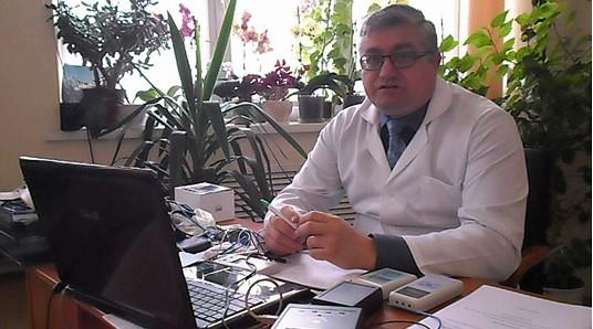 Разработчик мед.прибора «Паркес-Д» - практический врач